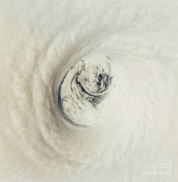 Photograph - Eye Of Hurricane Emilia by Science Source