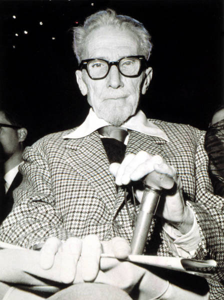 Goatee Photograph - Ezra Pound, American Poet by Everett