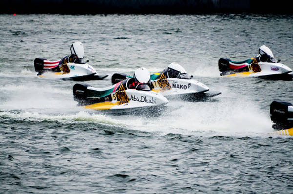F1 Power Boats by Chua ChinLeng