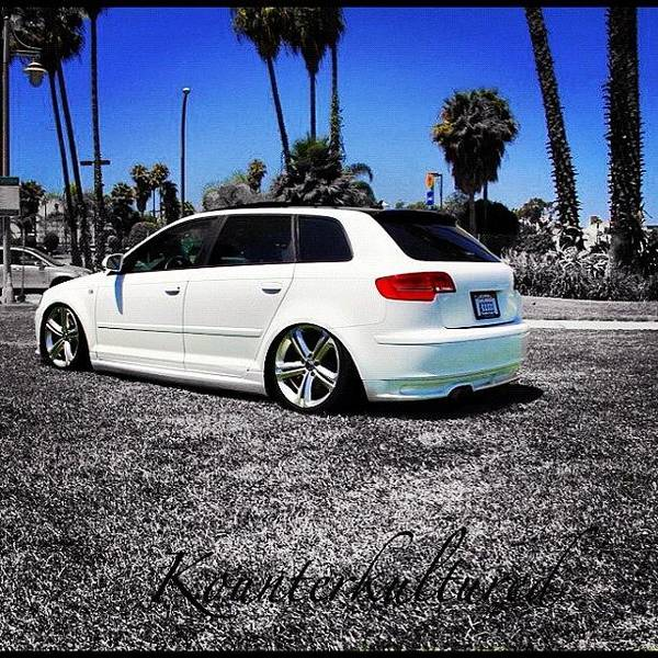 Audi Photograph - Fa Sho!! Dope Little A3 Audi Wagon by Kounterkultured Allende