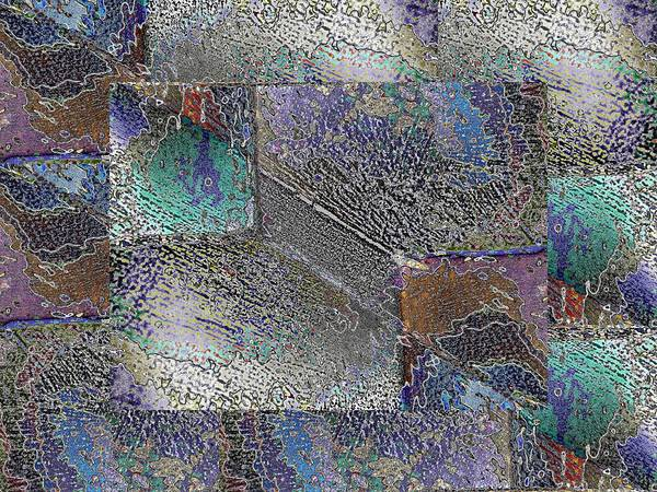 Granite Digital Art - Facade 10 by Tim Allen
