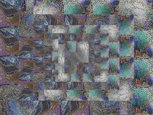 Granite Digital Art - Facade 13 by Tim Allen