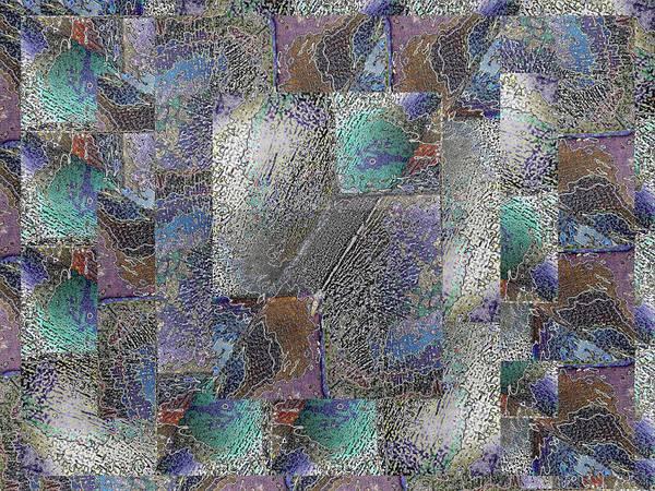 Granite Digital Art - Facade 15 by Tim Allen
