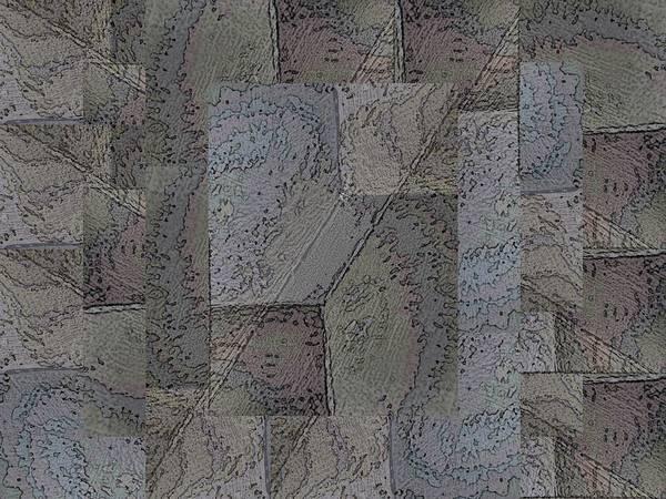 Granite Digital Art - Facade 3 by Tim Allen