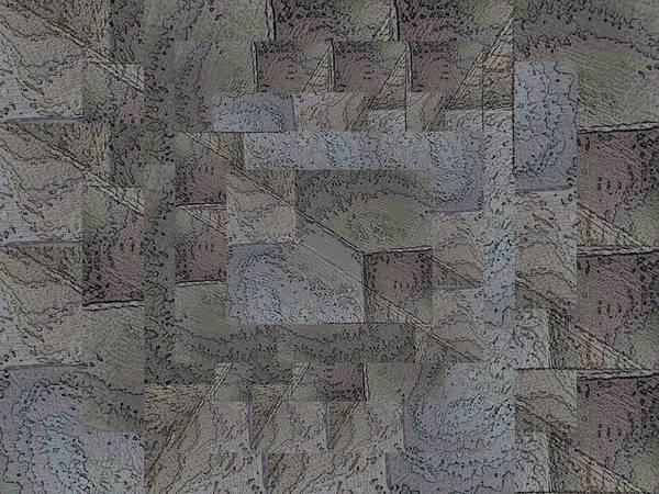 Granite Digital Art - Facade 4 by Tim Allen