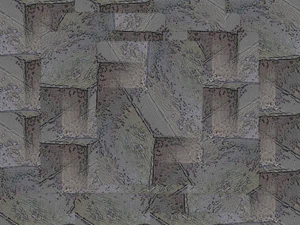 Granite Digital Art - Facade 5 by Tim Allen