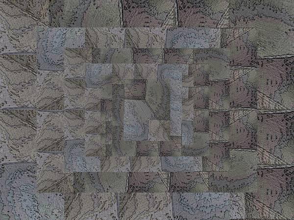 Granite Digital Art - Facade 6 by Tim Allen