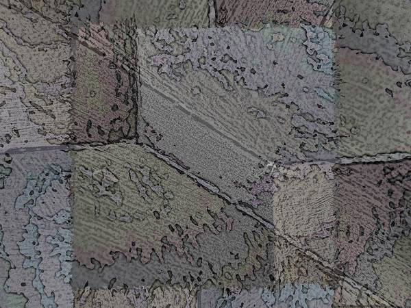Granite Digital Art - Facade 7 by Tim Allen