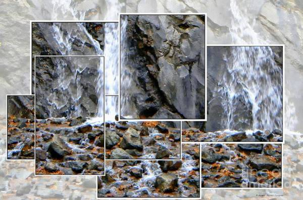 Helen Hunt Falls Photograph - Face In Helen Hunt Falls by Michelle Frizzell-Thompson