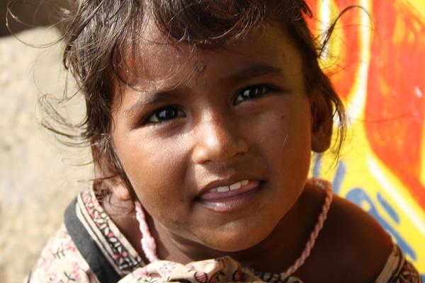 Sonrisa Wall Art - Photograph - Faces Of India 01 by Joe K --