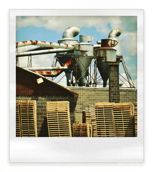 Pallet Wall Art - Photograph - Factory by HD Connelly