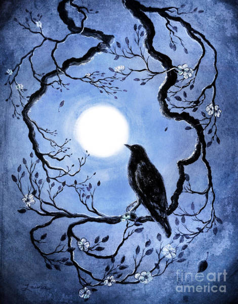 Raven Digital Art - Faded Memories Of Spring by Laura Iverson