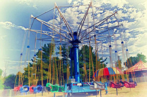 Fair Ground Photograph - Fairfield Carnival 5 by Kathy Jennings
