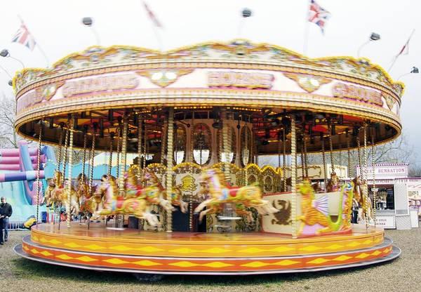 Fair Ground Photograph - Fairground Carousel by Johnny Greig