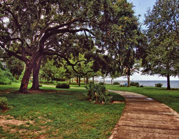 Digital Art - Fairhope Lower Park 2 by Michael Thomas