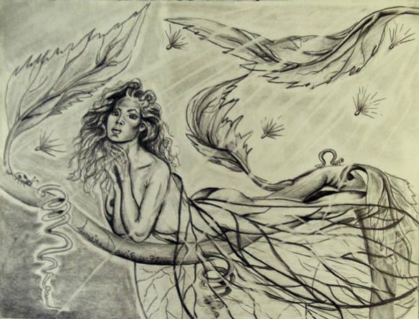Wall Art - Drawing - Fairy Diva by Lorraine Davis Martin
