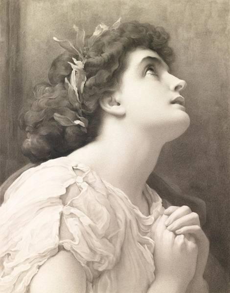 1900 Painting - Faith by Frederic Leighton