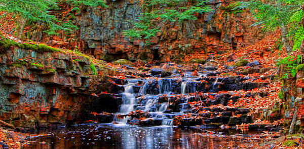 Photograph - Fall Falls Revisited by Paul Svensen