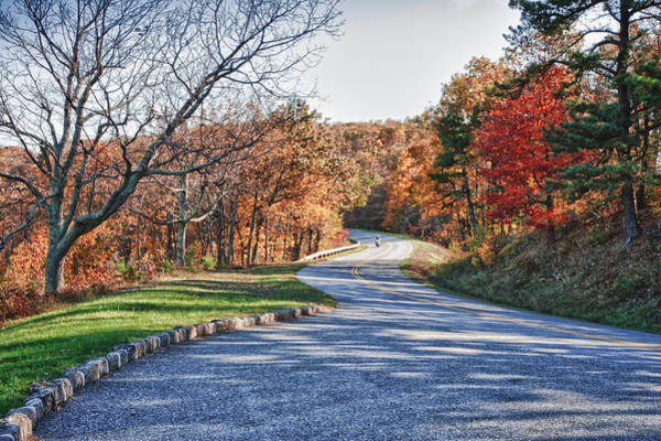 Photograph - Fall Foliage On The Blue Ridge Parkway by James Woody
