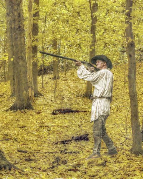 Musket Digital Art - Fall Hunt by Randy Steele