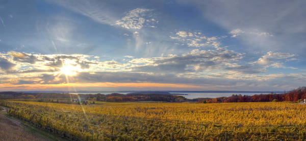 Traverse City Photograph - Fall On Old Mission Peninsula by Twenty Two North Photography