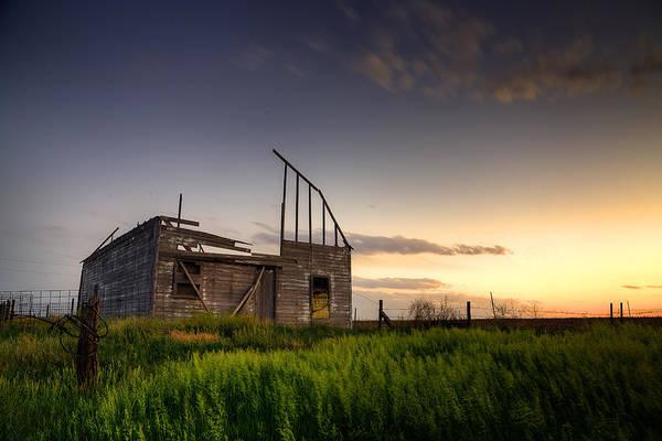 Wall Art - Photograph - Fallen Barn by Thomas Zimmerman