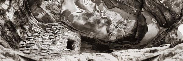 Anasazi Ruin Photograph - Fallen Roof by Steve Munch