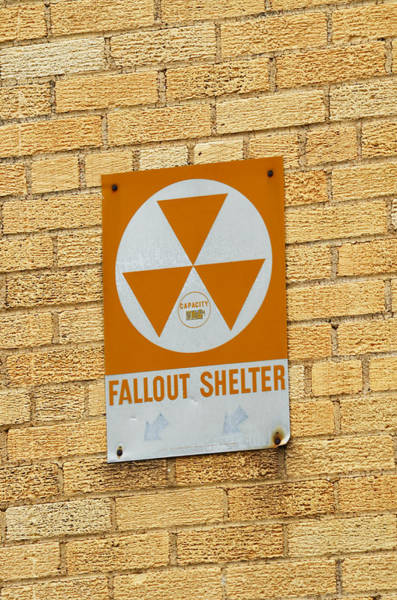 High School Photograph - Fallout Shelter by Nikki Marie Smith