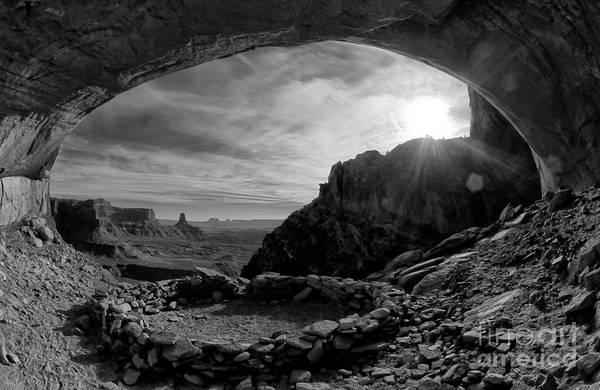 Anasazi Ruin Photograph - False Kiva by Keith Kapple