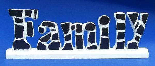 Painting - Family Tile by Cynthia Amaral