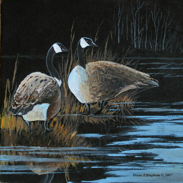 Painting - Family Way by Diane Ellingham