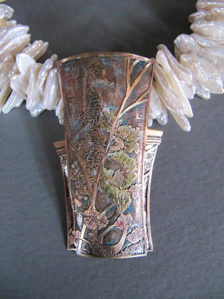 Freshwater Pearls Wall Art - Jewelry - Fancy Frolic by Brenda Berdnik