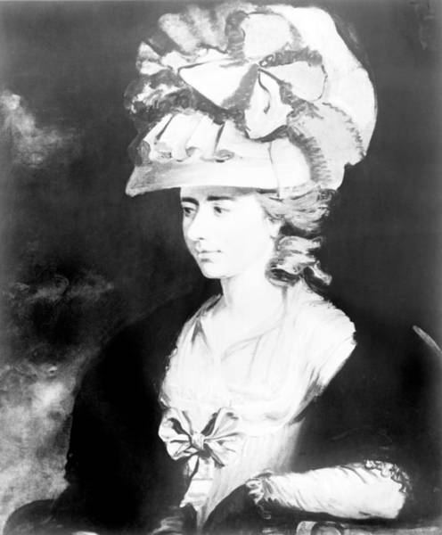 Fanny Photograph - Fanny Burney 1752-1840, Wrote Evelina by Everett