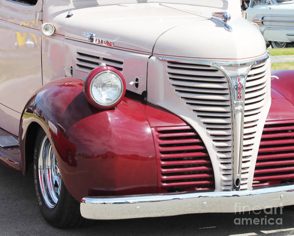 Photograph - Fargo Truck by Donna L Munro