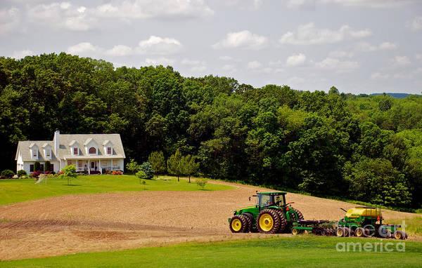 Photograph - Farming The Field 2 by Mark Dodd
