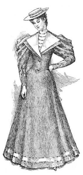Photograph - Fashion: Yachtswoman, 1893 by Granger