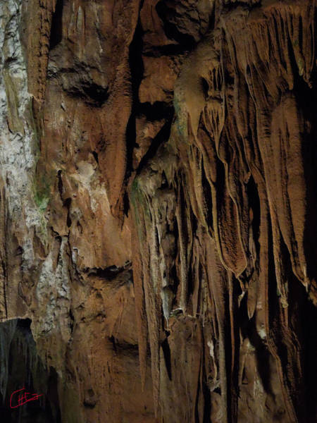 Photograph - Featured Grotte De Magdaleine In South France Region Ardeche by Colette V Hera  Guggenheim