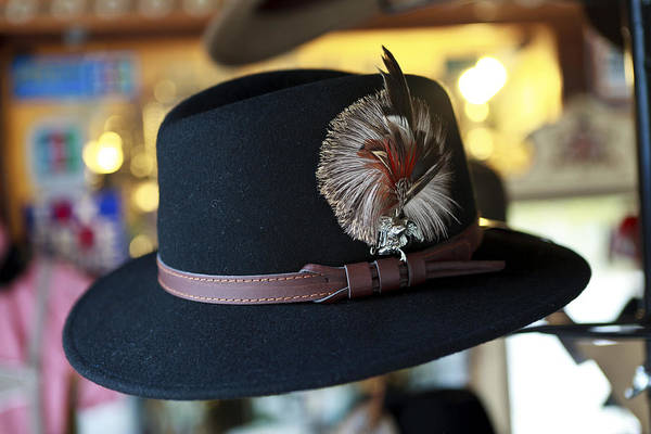 Millinery Photograph - Fedora by Cecil Fuselier