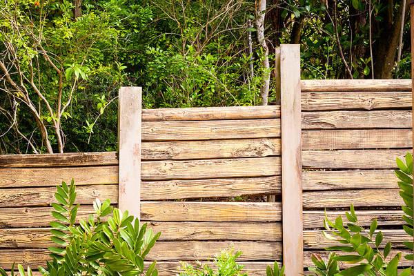 Boundaries Wall Art - Photograph - Fence by Tom Gowanlock