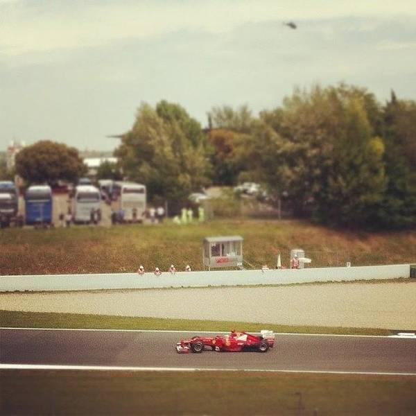 Fernando Alonso - Ferrari Art Print