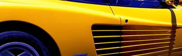 Photograph - Ferrari Side by Jeff Lowe
