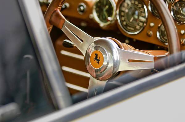 Photograph - Ferrari Steering Wheel 2 by Jill Reger