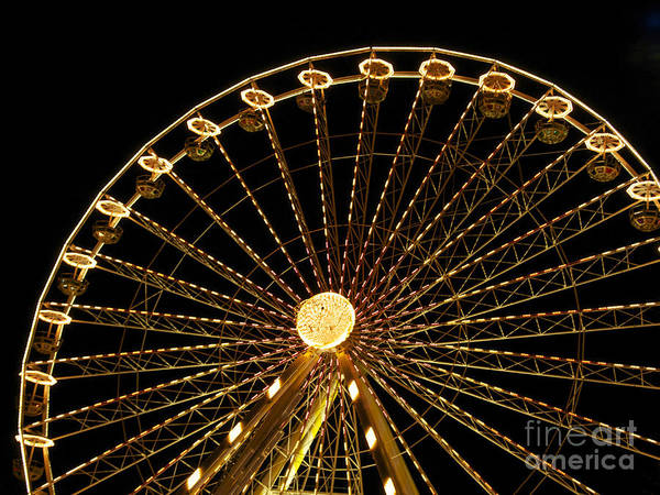 Wall Art - Photograph - Ferris Wheel by Bernard Jaubert