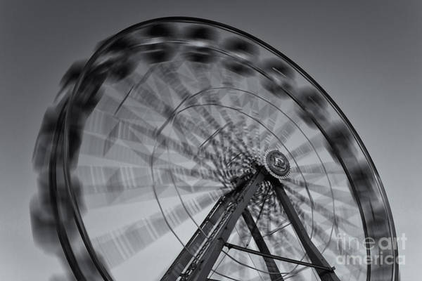 Photograph - Ferris Wheel V by Clarence Holmes