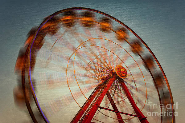 Photograph - Ferris Wheel Vi by Clarence Holmes