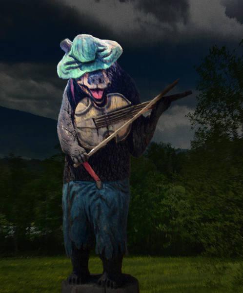 Wall Art - Photograph - Fiddler Bear by David A Brown