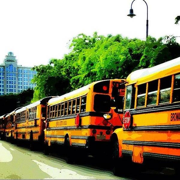 Bus Photograph - Field Trip To #mods. #fortlauderdale by Lauderdale Ashley