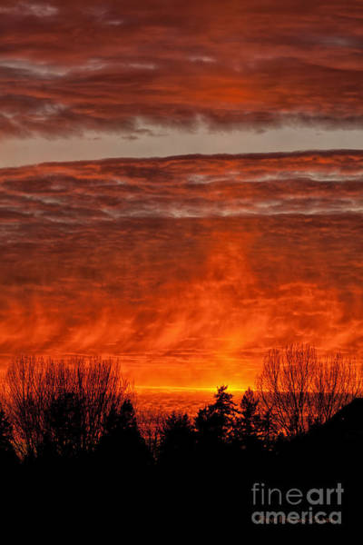 Photograph - Fiery Abyss by Beve Brown-Clark Photography