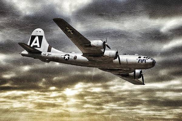 Superfortress Photograph - Fifi by Pair of Spades
