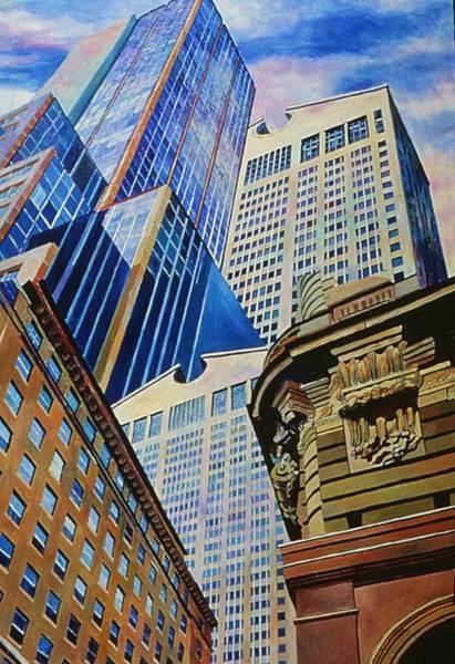 Painting - Fifth In Att Series by Nancy Wait